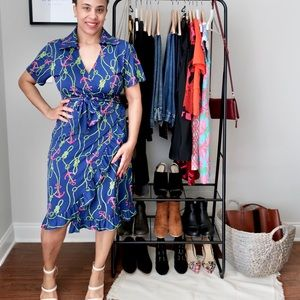 Tracy Negoshian Wrap Dress